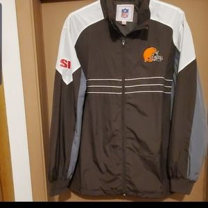 CLEVELAND BROWNS WINDBREAKER